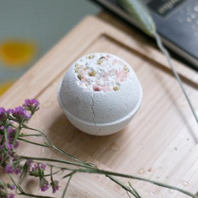 DIY Bath Bombs using Bath Salts